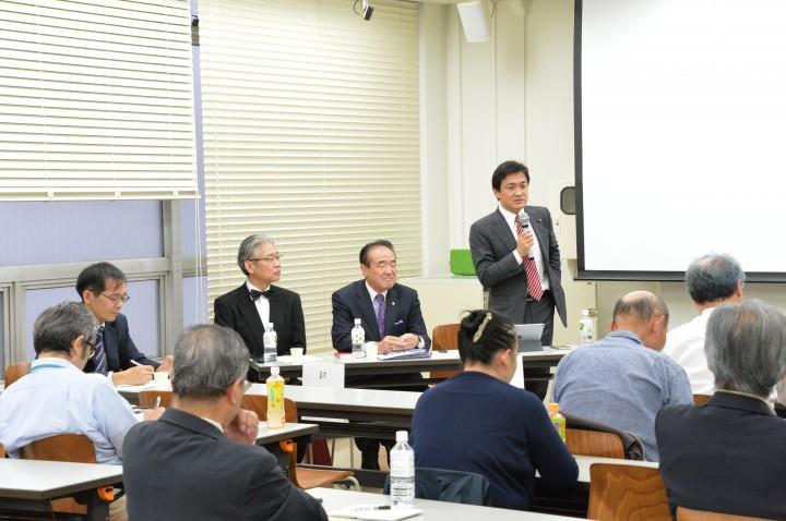 リベラル中道でも、改革志向の政党目指す」日本臨床政治学会講演会で ...