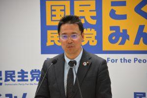 活動方針などを説明する平賀貴幸事務局長