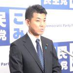 泉健太国対委員長ぶらさがり記者会見