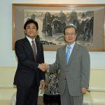 程永華中国大使と面会