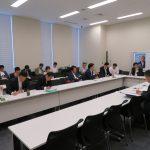 外交・安全保障調査会、拉致問題対策本部、外務・防衛・復興部会合同会議