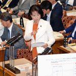 参院予算委での伊藤孝恵議員の質問
